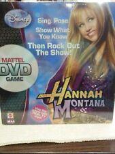ORIGINAL 2007 DISNEY HANNAH MONTANA MATTEL DVD GAME SEALED 15033