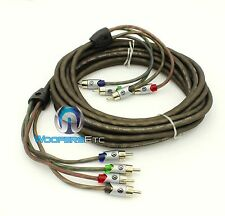 MEMPHIS UTPF-21.4 21 FEET 4 CHANNEL ULTRA TWISTED RCA AUDIO AMPLIFIER CABLE WIRE