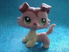 ORIGINAL Littlest Pet Shop Collie DOG # 1723 Shipping with Polish