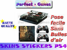 Skin sticker auto-collant vinyl  Crysis n°2 pour console SONY PS4