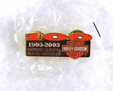 HARLEY-DAVIDSON Pin 1903-2003 So. Calif. Dealers Assn 100th NEW IN PACKAGE