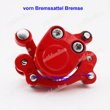 vorn Bremssattel Bremse für Mini Gas Electric Go Kart ATV Quad GoPed Scooter