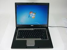 "READY TO USE! 15"" Dell Latitude D531 Laptop PC AMD Sempron 2.00GHz 160GB 2GB W7"