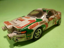 PROVENCE MOULAGE 1:43 TOYOTA CELICA 4WD  - RALLY 3 CASTROL - RARE SELTEN -GOOD -