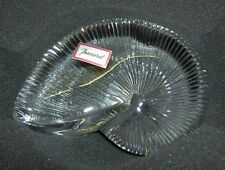 BACCARAT France LARGE Nautilus Shell Clear Crystal Decor Paperweight MINT 15 oz