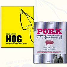 Pork Recipes Collection 2 Books Set Pork Preparing Curing & Cooking, Hog Proper