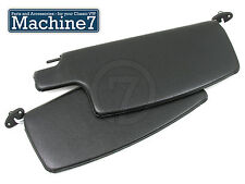 Classic VW Beetle Black Interior Trim Sunvisors Sun Visor Bug T1 1965-79 Pair