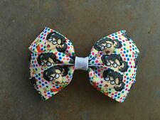 La Chilindrina Hair Bow with Alligator Clip El Chavo