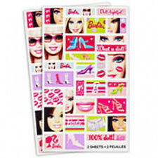 Barbie All Doll'D Up Sticker Sheets (60 stickers)