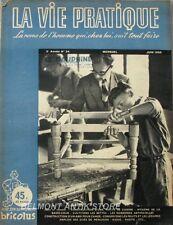 La vie pratique n°34- 1950 - Bricolus - Construction armoire à pharmacie - Hotte