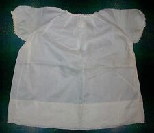 Vintage Infant Baby Doll Off White Batiste Embroidered Cotton Dress Philippines