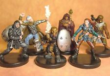 Dungeons & Dragons Miniatures Lot  Balanced Player Character Party !!  s108