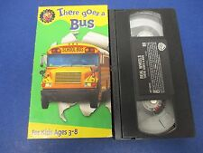 There Goes A Bus VHS, Ages 3-8,Yellow School Buses,City Buses,Double-Deck & More