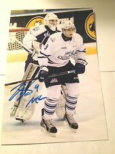 Michael McLeod SIGNED 4x6 photo MISSISSAUGA STEELHEADS / NHL DRAFT 2016