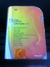 Microsoft Office Ultimate 2007, Word,Excel,Access,Outlook,Publisher,PowerPoint