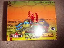 Teenage Mutant Ninja Turtles TMNT 20 Full Box Series 1 Trading Cards by FLEER