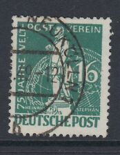 BERLIN : 1949 U.P.U. 16pf blue-green  SGB55 used