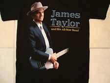 James Taylor and His All-Star Band Tour 2014 Fold Country Blues ROck T Shirt S