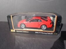 2000 SVT Mustang Cobra R Special Edition Miasto 1/18 Scale Die-cast Model