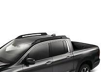 2017 HONDA RIDGELINE ROOF RAILS BLACK OEM