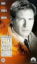 Clear and Present Danger [VHS], Acceptable VHS, Harrison Ford, Willem Dafoe, Ann