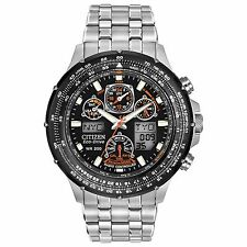 Citizen Eco-Drive Men's JY0000-53E Shyhawk Atomic World Time Alarm 46mm Watch