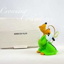 Grolier Pluto as an Angel Disney Ornament Christmas DCA Caroling Dog Vintage HTF