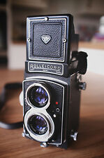 Rolleicord V 120mm 6x6 TLR medium format film camera