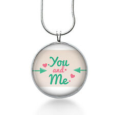 You and Me Necklace - Love Jewelry - Pendant