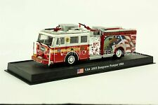 Giant Fire Truck Seagrave Pumper - 2003, Squad 61 Diecast Model 1/64 No 6