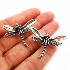 Taxco 925 Sterling Silver Dragonfly Earrings