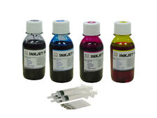 Refill ink for Epson Eco Tank L100 L110 L120 L200 L210 L300 L350 L355 4x100ml