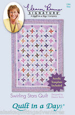 Pattern & Acrylic Template ~ SWIRLING STARS ~ Eleanor Burns - Quilt in a Day