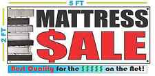 MATTRESS SALE full color Banner Sign NEW Larger Size Best Quality for the $$$