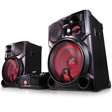 New LG CM9960 4800W Bluetooth Wireless Music System DJ Karaoke Dance Lighting