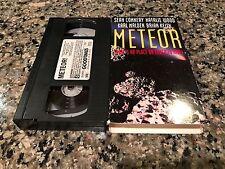 Meteor Rare VHS! 1979 High-Tension Cold War Thriller! Sean Connery!