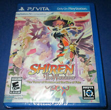 Shiren the Wanderer: The Tower of Fortune and the Dice of Fate Sony PSP - New!