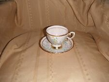 tuscan fine english  china tea cup and saucer gold trim