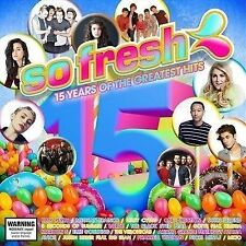 So Fresh 15 Years Of The Greatest Hits BRAND NEW SEALED CD 2015 Compilation