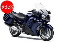 Kawasaki ZG 1400 GTR (2010) - Workshop Manual on CD (In Spanish)