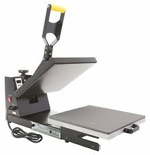 "GECKO 15""X15"" HEAT PRESS MACHINE, SLIDE OUT DRAWER T-SHIRT TRANSFER, GK102-DR"