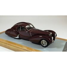 CHROMES 067 - Bugatti 57S Atlantic 1936 sn57473 Burgundy  1/43