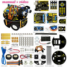 Obstacle Avoidance Tracking Infrared Bluetooth Control Smart Car kit Arduino