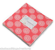 """Moda FABRIC Layer Cake ~ CANYON ~ by Kate Spain 42 - 10"""" Squares"""