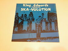 King Edwards Presents Ska-Volution LP 1988  MADE IN UK - VARIOUS ARTISTS SKA -
