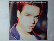 "NICK KAMEN Each time you brean my heart 7"" ITALY MADONNA"