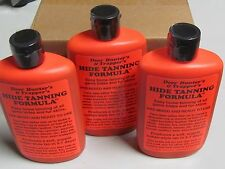 3 Deer Hunter's & Trapper's Hide & Fur Tanning Formula 8 oz. New