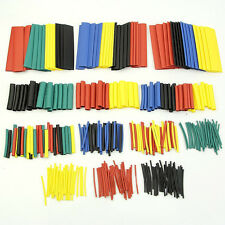 328 Pcs 5 Colors 8 Sizes Assorted 2:1 Heat Shrink Tubing Wrap Sleeve Kit C