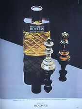 PUBLICITÉ DE PRESSE 1977 PARFUM MONSIEUR DE ROCHAS - ADVERTISING