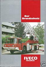 Fire Equipment Brochure - Iveco Magirus - Der Brandschutz - GERMAN lang (DB228)